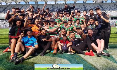 South Sydney 2019 Jersey Flegg Champions (Photo : Steve Montgomery)
