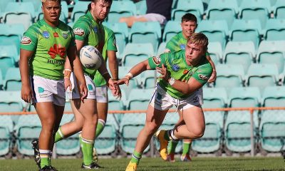 Canberra Raiders won a tough game to play in the 2021 SG Ball Cup Grand Final against a slick Illawarra Steelers (Photo : Steve Montgomery)