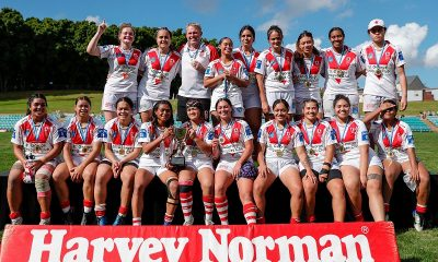 The St. George Dragons are the 2021 Tarsha Gale Cup Champions (Photo : Bryden Sharp bsphotos.com.au)