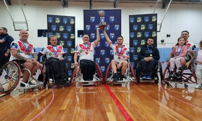 St George Illawarra Dragons have claimed their fourth consecutive NSW Cup title in NSW Wheelchair Rugby League (Photo : Steve Montgomery)