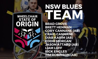 NSW Blues Wheelchair Rugby League State of Origin team announced