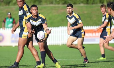Westfields SHS go into attack mode in Rnd 1 against The Hills SHS (Photo : Steve Montgomery)