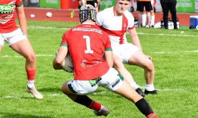 English youth excel in Double Header Test in Wales