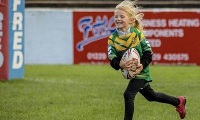 Barrow & District League celebrate annual Primary RL Festival (Photo: Becky Beacock)
