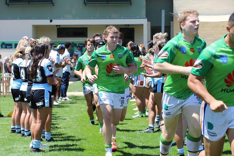 Selection process for Canberra Raiders Junior Representative Program - Season 2022 (Photo : Steve Montgomery)